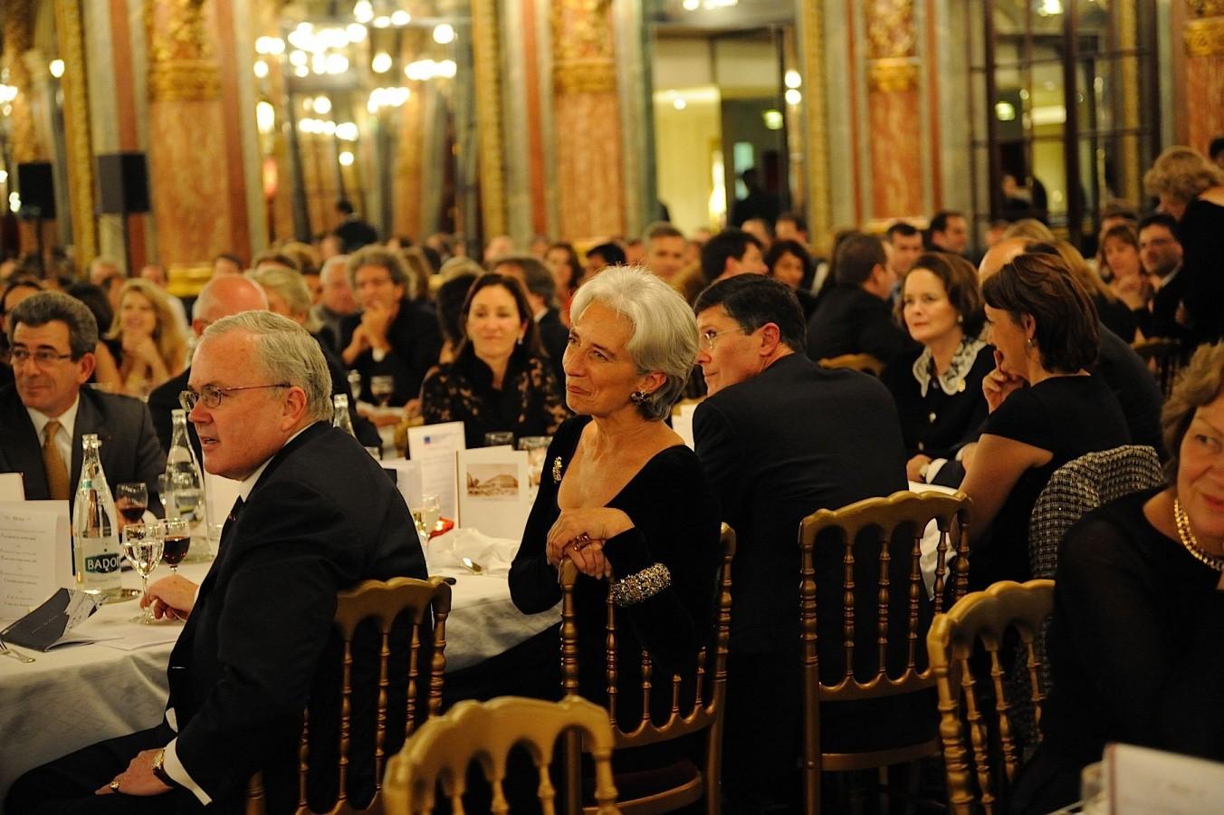 Craig Stapleton et Christine Lagarde
