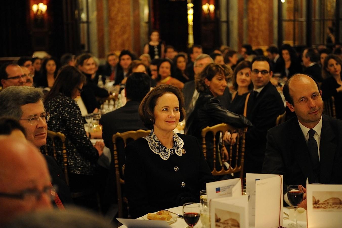 Une soirée des VIP à Paris