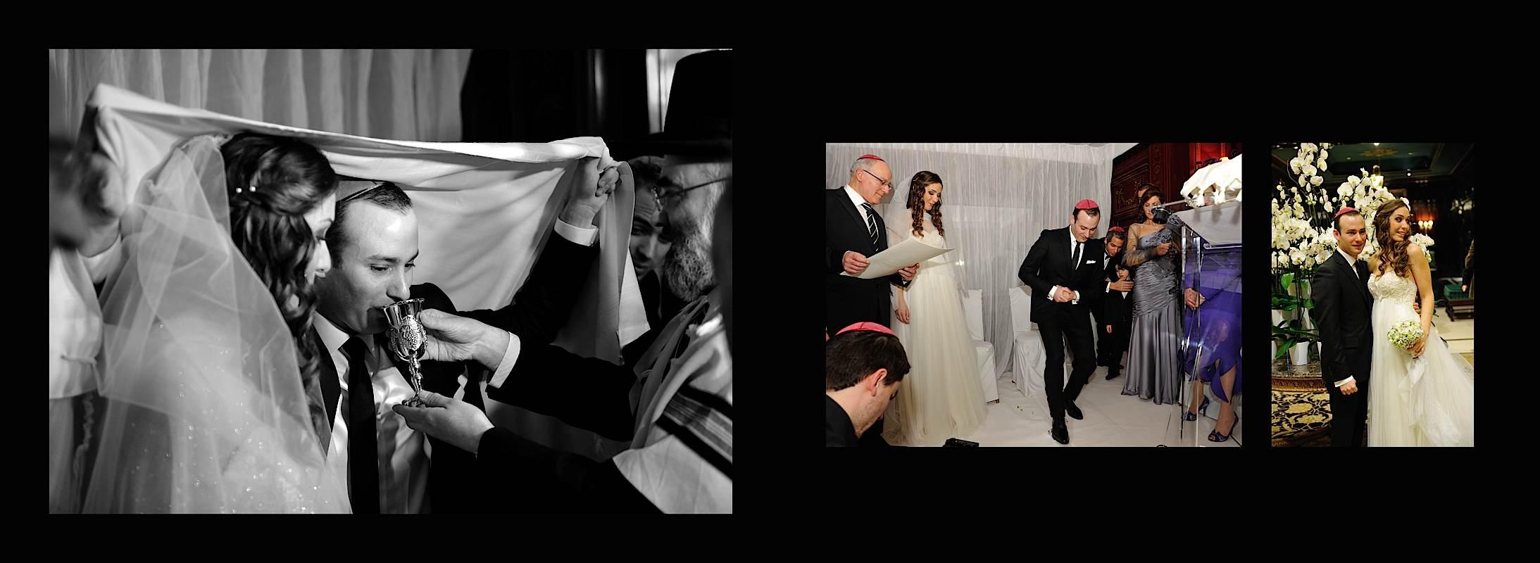 Photo d'un mariage à paris