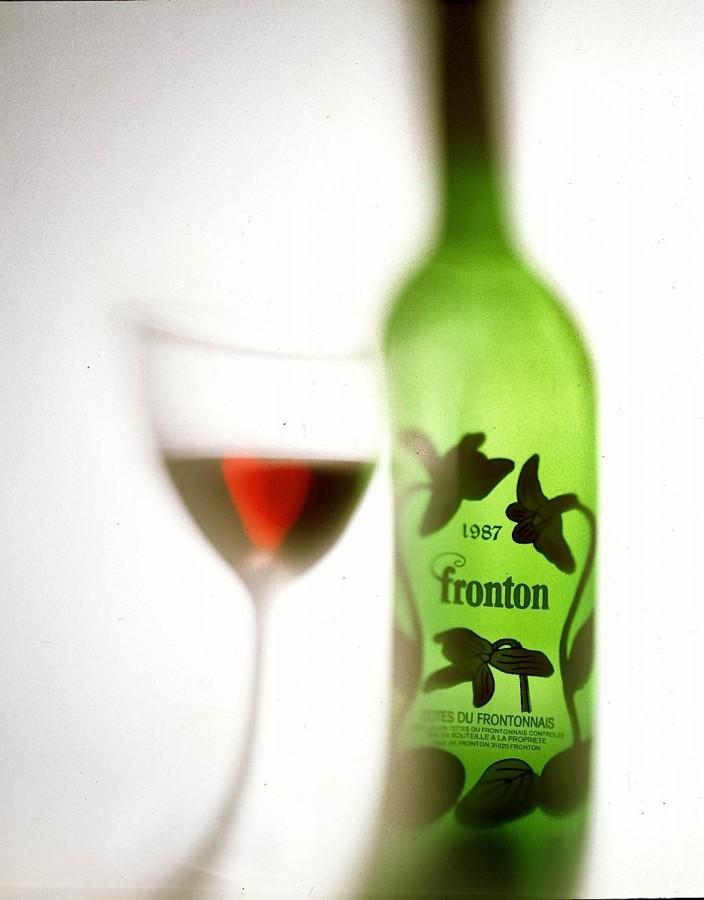 Bouteille de vin fronton