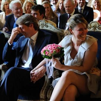 Mariage civil à la mairie du 7 ème