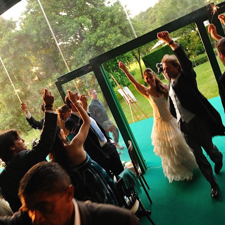 Entrée en salle des mariés