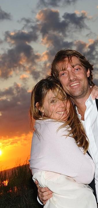 les mariés là la veille de leur mariage à Deauville