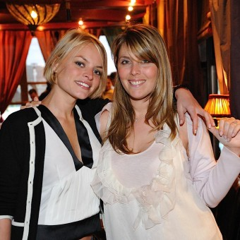 La mariée et son amie