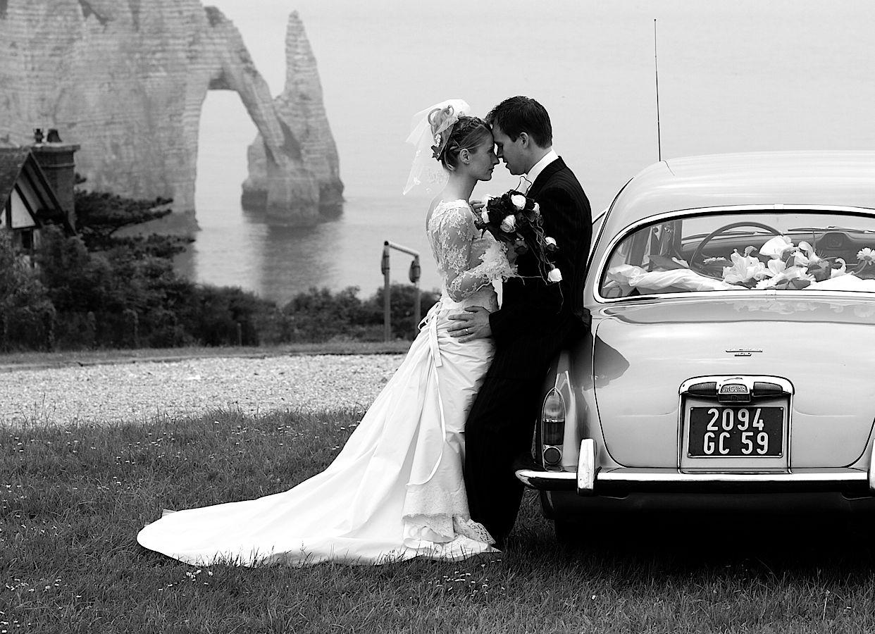 Préférence Photos de mariage noir et blanc UU12