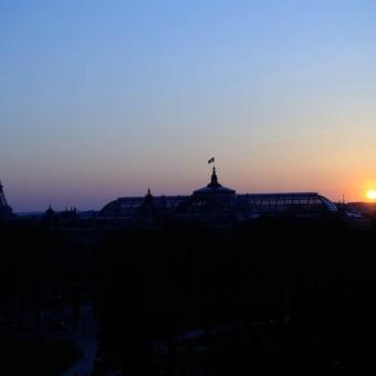 Paris vue du place concorde