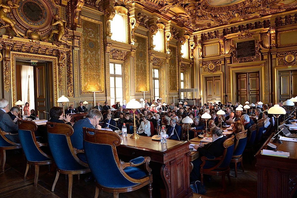 Reunion à la Cour de cassation de Paris
