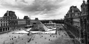 musée du louvre vue panoramique
