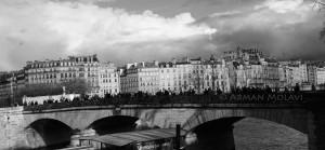 photo panoramique paris vue sur la seine