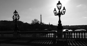 Pont Alexandre 3 vue panoramique